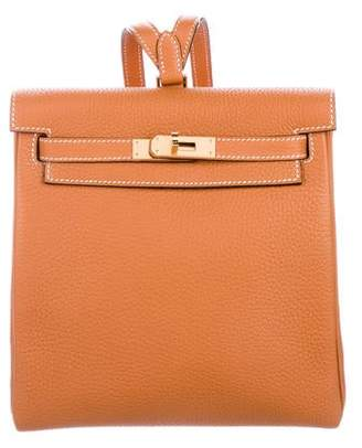 Hermes 2018 Clemence Kelly Ado II Backpack