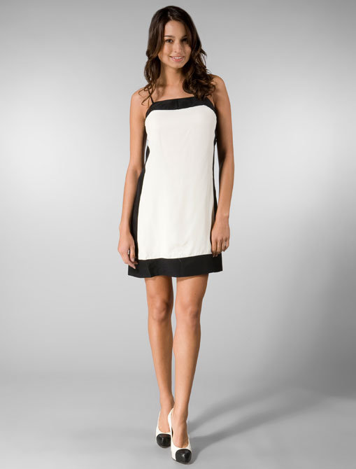 Christopher Deane Sammy Dress in Black/White