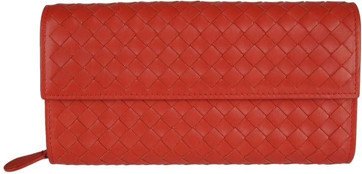 Bottega Veneta Bottega Veneta Braided Continental Wallet
