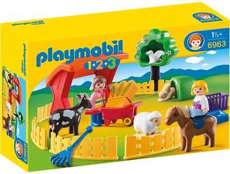 Playmobil 123 Petting Zoo 6963