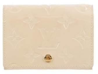 Louis Vuitton Vernis Envelope Carte de Visite