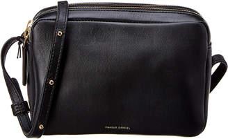 Mansur Gavriel Double Zip Leather Crossbody