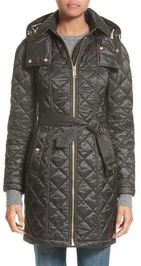 Women's Burberry Baughton Quilted Coat