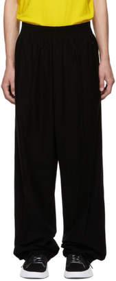 Y-3 Black Wide Trousers