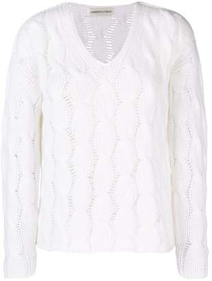 Lamberto Losani cable knit sweater