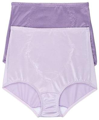 Bali Tummy Panel Firm Control Brief 2-Pack