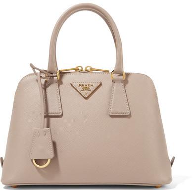 Prada - Promenade Textured-leather Tote - Blush