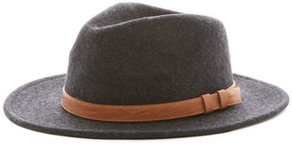 RVCA Golden West Fedora Hat $55 thestylecure.com
