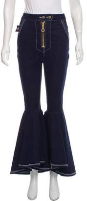 Ellery Flared High-Rise Jeans