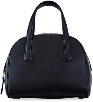The Row Sporty Bowler 9 Smooth Leather Top-Handle Bag
