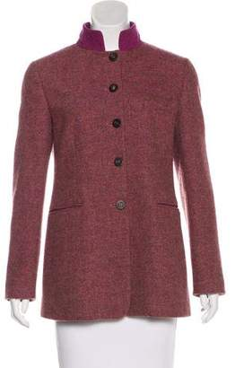 Etro Herringbone Short Coat