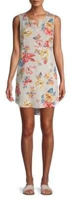 Graphic Hi-Lo Dress