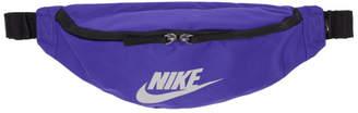 Nike Blue Heritage Fanny Pack