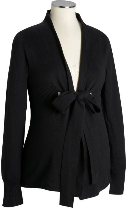 Maternity Tie-Front Cardigans