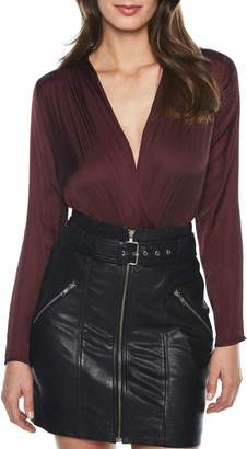 Bardot Faux Wrap Bodysuit