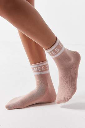 adidas 3-Stripe Fold-Over Quarter Sock