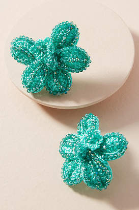Tina Botero Orchid Post Earrings