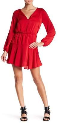 Dee Elly Blouson Flared Boho Dress