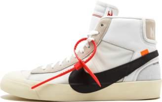 Nike The 10 Blazer Mid 'Off-White' - White/Black