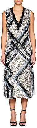Derek Lam Women's Embellished Silk Sheath Dress