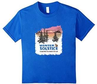 Winter Solstice Celebrating the Return of the Sun T-Shirt