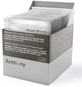 Shower Sheets (12 Sheets)
