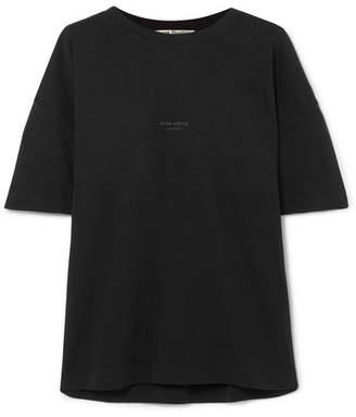 Acne Studios Stellie Printed Cotton T-shirt