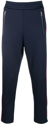Moncler side-stripe track trousers