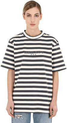 GUESS Ia Ss Usa Crew T-Shirt