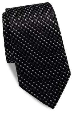 Saks Fifth Avenue Textured Neat Silk Tie