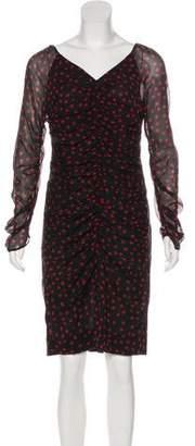 Dolce & Gabbana Silk Polka Dot Dress w/ Tags