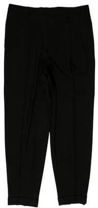 Saint Laurent Cropped Wool Pants