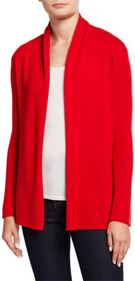 Neiman Marcus Cashmere Open-Front Cardigan