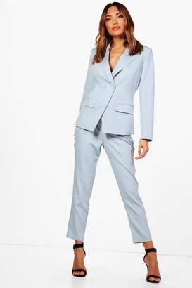 boohoo Straight Leg Woven Suit Trouser