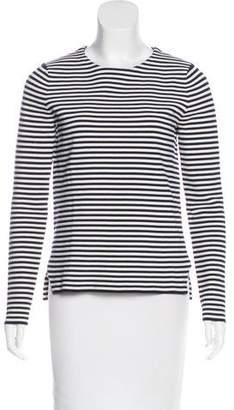 Apiece Apart Striped Long Sleeve Top