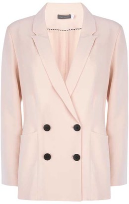 Mint Velvet Blush Double Breasted Blazer