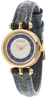 Gucci Pre-Owned Shelly Line quartz wrist watch
