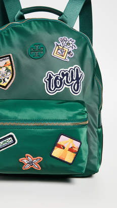 Tory Burch Tilda Patches Zip Backpack