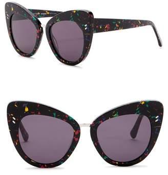 Stella McCartney 55mm Cat Eye Sunglasses
