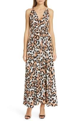 Diane von Furstenberg Sierra Silk Maxi Dress