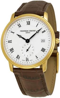 Frederique Constant Men's Ultra Slim Date Watch