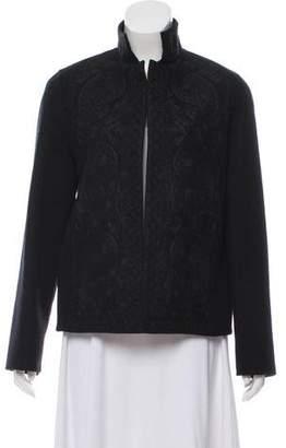 Ellen Tracy Linda Allard Wool Embroidered Jacket