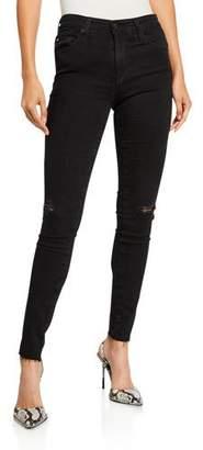 AG Jeans Farrah High-Rise Skinny Jeans