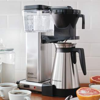 Sur La Table Technivorm Moccamaster Coffee Maker with Thermal Carafe, Polished Silver