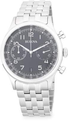Bulova Men's Classic Chronograph Bracelet Watch