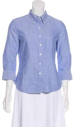 Boy By Band Of Outsiders Chambray Button-Up Top