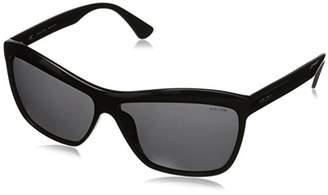 Police Women's S1879-0700 Rectangular Sunglasses