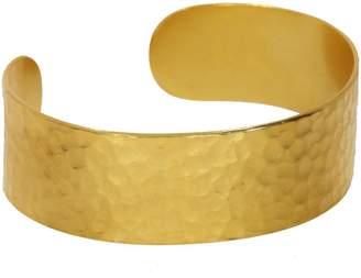Ottoman Hands - Ottoman Hand-Hammered Gold Cuff