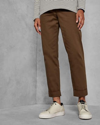 Ted Baker CHARL Cropped fit wide leg trousers