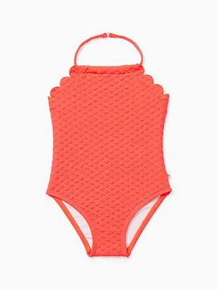 Kate Spade Babies scalloped one-piece